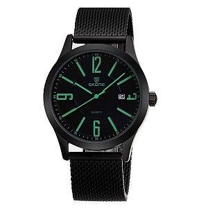 Relógio Masculino Skone Analógico 7347BG Verde-