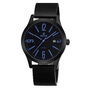 Relógio Masculino Skone Analógico Casual 7347 Azul-