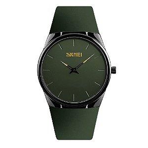 Relógio Feminino Skmei Analógico 1601S - Verde e Preto