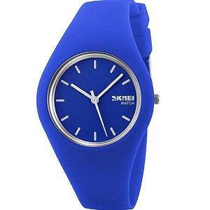 Relógio Feminino Skmei Analógico 9068 - Azul