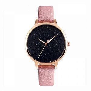 Relógio Feminino Skmei Analógico 9141 Rosa e Rose