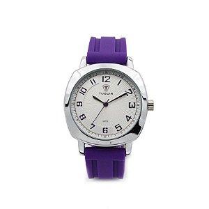 Relógio Feminino Tuguir Analógico 5015 Roxo-