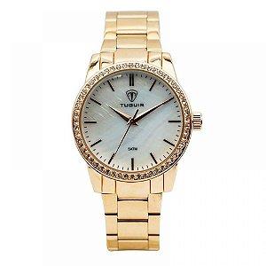 Relógio Feminino Tuguir Analógico 5346G Rose