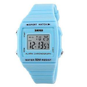 Relógio Feminino Skmei Digital 1136 Azul-