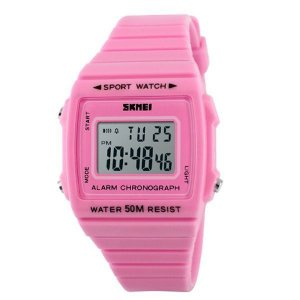 Relógio Feminino Skmei Digital 1136 Rosa-