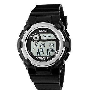 Relógio Feminino Skmei Digital 1161 Preto