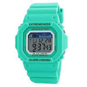 Relógio Feminino Skmei Digital 6918 Verde-