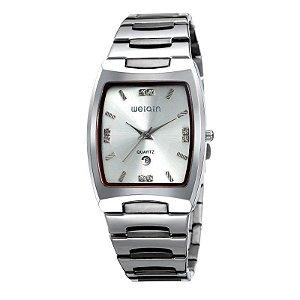 Relógio Masculino Weiqin Analógico W0054BG Prata-