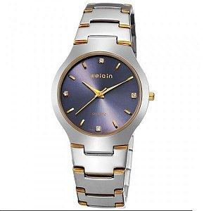 Relógio Masculino Weiqin Analógico W4164G Prata-