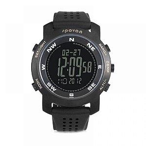 Relógio Masculino Spovan Digital Bravo - Preto