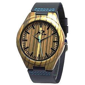 Relógio Masculino PSW Analógico Madeira PSW2 Preto-