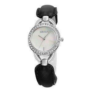 Relógio Feminino Weiqin Analógico W4385 Branco-