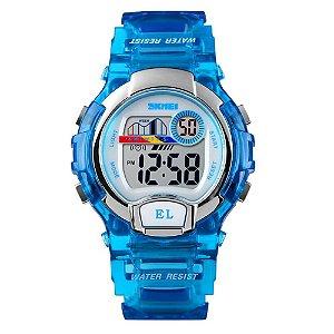 Relógio Infantil Skmei Digital 1450 Azul