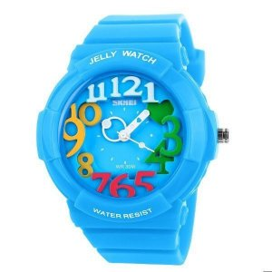 Relógio Infantil Skmei Analógico 1042 Azul-