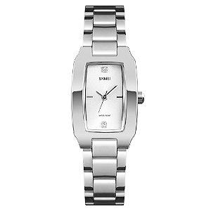Relógio Feminino Skmei Analógico 1400 - Prata