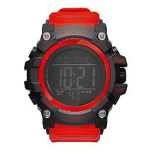 Relógio Masculino Tuguir 10ATM Digital TG109 - Preto e Vermelho