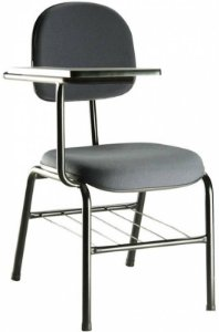 Cadeira Universitária Draco - Com Prancheta e Gradil