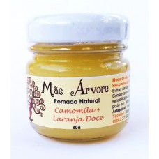 Pomada Natural Camomila + Laranja Doce (Digestiva / Anti-Cólicas)