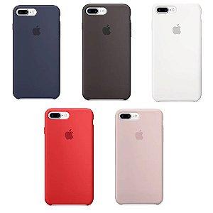 Capa de Silicone Celular Apple Iphone 7 Plus