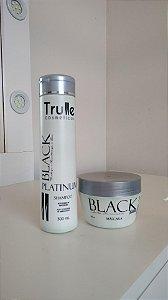 Linha Black Platinum- Alto Poder De Matização