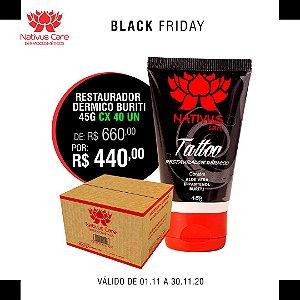 BLACK FRIDAY BURITI Pomada Cicatrizante para Tatuagem 45G CX 40 UN