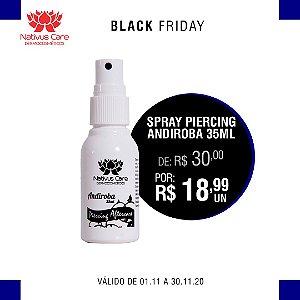 black friday Spray Piercing Andiroba Cicatrizante 35ml 1 unidade