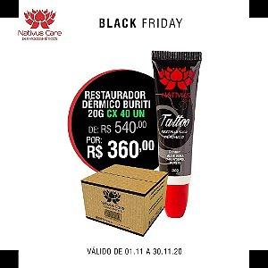 black friday Buriti pomada cicatrizante para tatuagem 20g cx 40 un