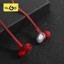 Fone de Ouvido KLGo - Vermelho - Modelo KS10
