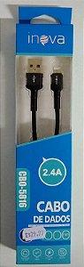 CABO USB PRETO PARA IPHONE CBO-5816