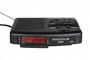 RM-RRD22-RÁDIO RELÓGIO DIGITAL AM/FM