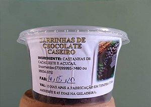 Barrinhas de chocolate caseiro - pote de 160g
