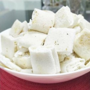 Beiju de coco sem açúcar - pacote de 225g