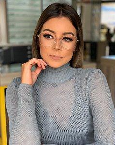 Óculos de grau Rosê Gold