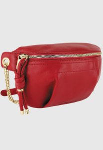 Pochete Bolsa Transversal Feminina Vermelha B038