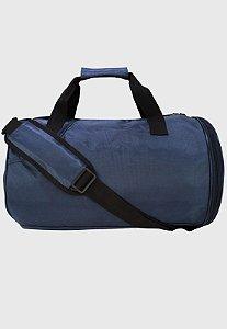 Mala de Mão Bolsa Transversal de Viagem Masculina Azul B045