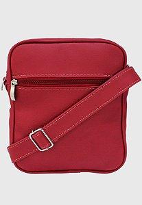 Shoulder Bag Bolsa Transversal Pequena Vermelha L084