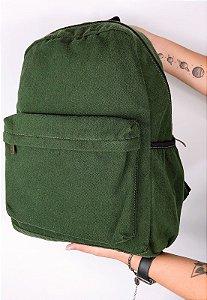 Mochila Escolar Jeans Grande Verde A010