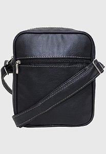 Shoulder Bag Bolsa Transversal Pequena Preta L084