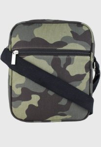 Shoulder Bag Bolsa Transversal Pequena Camuflada
