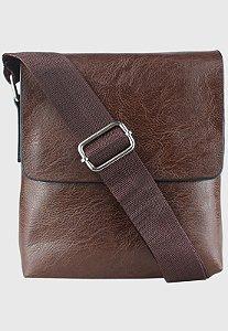 Shoulder Bag Pequena Marrom B014