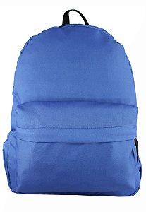 Mochila Escolar Menina Menino Nylon Azul F001