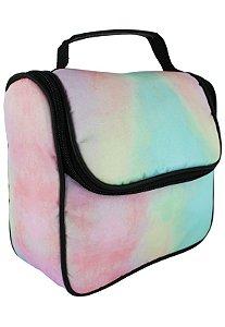 Bolsa Marmiteira Térmica Estampada Tie Dye Multicolorida A016