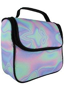 Bolsa Marmiteira Térmica Estampada Holográfica Multicolorida A016