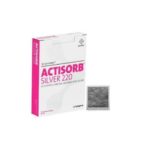 Curativo Actisorb Silver 220 10,5cm x 10,5cm - Systagenix