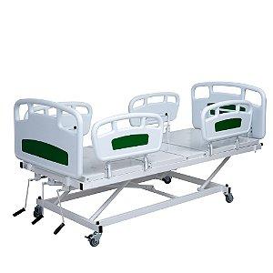 Cama Fawler Injetada Com Elevação - Salutem Hospitalares