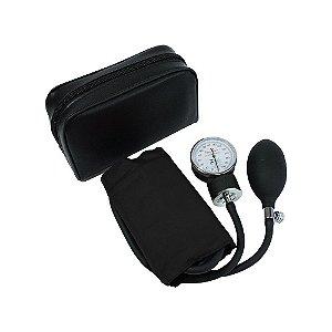 Esfigmomanômetro Aneróide Preto - Premium