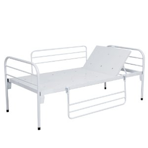Cama Hospitalar Com Cabeceira Móvel e Grades - Salutem Hospitalares