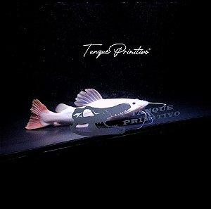 Peixe Pirarara Leucística (branca rabo vermelho) - TAMANHO: 28cm