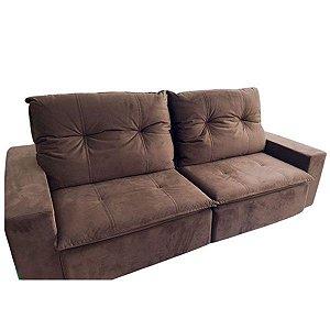 Sofá  retrátil e reclinável 2,40m