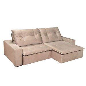 Sofá  retrátil e reclinável 2,60m